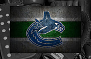 Hockey Photos - Vancouver Canucks by Joe Hamilton
