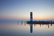 Lighthouse Landing Framed Prints - 110613p194 Framed Print by Arterra Picture Library