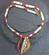 Organic Jewelry Originals - 1113 Indian Moon by Dianne Brooks