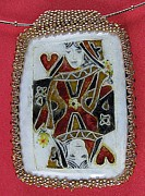 Hearts Jewelry - 1129 Queen of Hearts by Dianne Brooks