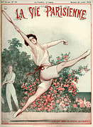 Vallee Prints - 1920s France La Vie Parisienne Magazine Print by The Advertising Archives