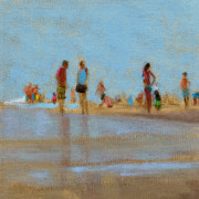 Shore Prints - RCNpaintings.com Print by Chris N Rohrbach