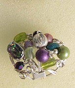 Mystic Jewelry Originals - 1172 Bling Bling Cluster Ring by Dianne Brooks