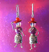Pose Jewelry - 1181 Red Hattitudes by Dianne Brooks