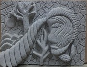 Carving Reliefs Originals - 12-12-12 by Pradeep Makwana