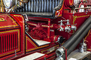 Chrome Handles Posters - 1915 LaFrance Fire Engine Poster by Rich Franco