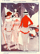 1920s France La Vie Parisienne Magazine Print by The Advertising Archives