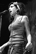 Singer Photos - Amy Winehouse by Jenny Potter