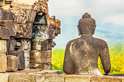 Mahayana Art - Borobudur by MotHaiBaPhoto Prints