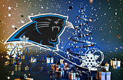 Panther Art - Carolina Panthers by Joe Hamilton