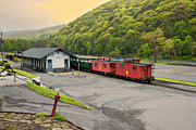 Cass Scenic Railroad Print by Mary Almond
