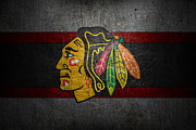 Hockey Art - Chicago Blackhawks by Joe Hamilton