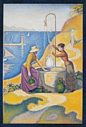 Paul Signac Framed Prints - France, Ile De France, Paris, Muse Framed Print by Everett