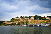 Yacht Photo Prints - Kalemegdan fortress in Belgrade Print by Elena Elisseeva