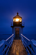 New England Lighthouse Prints - Marshall Point Lighthouse  Print by John Greim