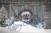 Milwaukee Brewers Prints - Milwaukee Brewers Print by Joe Hamilton