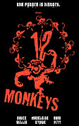 Vintage Posters Art - 12 Monkeys Poster by Sanely Great