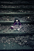 Bleak Prints - Old Doll Print by Joana Kruse