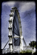 Singapore Prints - Singapore Flyer Print by Ashish Agarwal