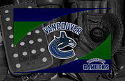 Vancouver Canucks Prints - Vancouver Canucks Print by Joe Hamilton