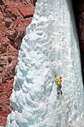 San Jaun Art - Ice Climb by Mark Weber