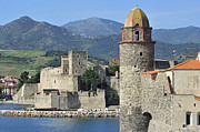Collioure Framed Prints - 120520p258 Framed Print by Arterra Picture Library