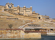 Amber Fort Prints - 120820p235 Print by Arterra Picture Library