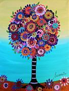 Baptism Paintings - Tree Of Life by Pristine Cartera Turkus