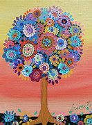 Baptism Painting Originals - Tree Of Life by Pristine Cartera Turkus