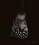 Black-and-white Posters - Untitled Poster by Anne Geddes