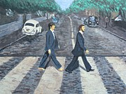 Abbey Road Prints - #13-47 Two of Us Print by Dane Tate