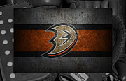 Hockey Photos - Anaheim Ducks by Joe Hamilton