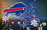Nfl Prints - Buffalo Bills Print by Joe Hamilton