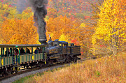 Mary Almond Prints - Cass Scenic Railroad Print by Mary Almond