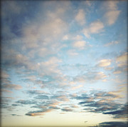 Skies Posters - Clouds  Poster by Les Cunliffe