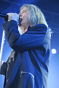 Rock Band Photo Prints - Def Leppard Print by Jenny Potter