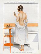 Nineteen-tens Prints - La Vie Parisienne  1916 1910s France Cc Print by The Advertising Archives