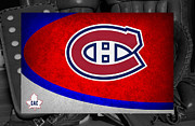 Canadiens Framed Prints - Montreal Canadiens Framed Print by Joe Hamilton