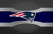 Sports Prints - New England Patriots Print by Joe Hamilton