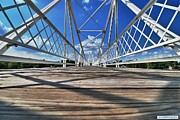 Architecture Photo Originals - 13 Track Footbridge by Eric Dewar