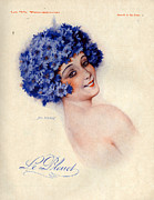 Parisienne Prints - 1920s France La Vie Parisienne Magazine Print by The Advertising Archives