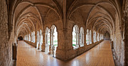 Ages Prints - 13th century Gothic Cloister Print by Jose Elias - Sofia Pereira