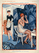 1929 Drawings - 1920s France La Vie Parisienne by The Advertising Archives