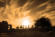 Archeological Sight Prints - Apollo Sanctuary-Cyprus Print by Augusta Stylianou