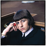 Beatles Metal Prints - Beatles HELP Ringo Starr Metal Print by Emilio Lari