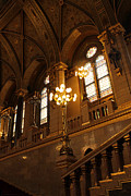 Gregory Dyer - Hungarian Parliament Building Interior