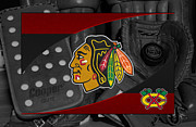 Skate Photos - Chicago Blackhawks by Joe Hamilton