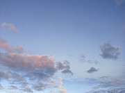 Blue Moon Photos - Clouds by Les Cunliffe