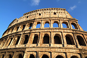 Roma Photos - Colosseum in Rome by George Atsametakis