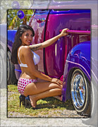 Lowrider Digital Art - Lowrider  by Walter Herrit